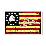 """""""Revolutionary Flag"""" Car Magnet 20 x 12"""