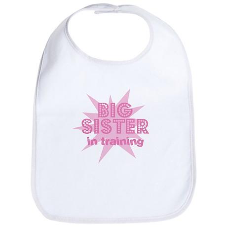 Big Sister in Training Bib