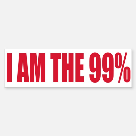 Occupy Wall Street Sticker (Bumper)