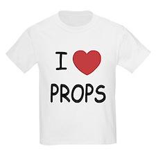 I heart props T-Shirt