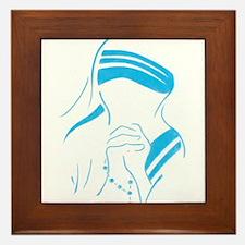 Funny Teresa Framed Tile