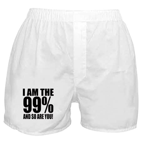 Occupy Wall Street Boxer Shorts