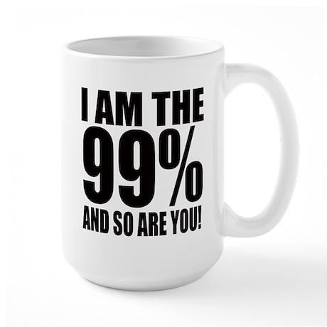 Occupy Wall Street Large Mug