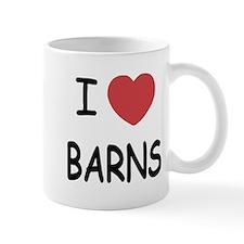 I heart barns Small Mug