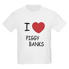I heart piggy banks T-Shirt