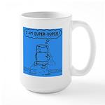 Large Mug featuring super duper Tom