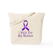 Alzheimer's Walk For Mother Tote Bag