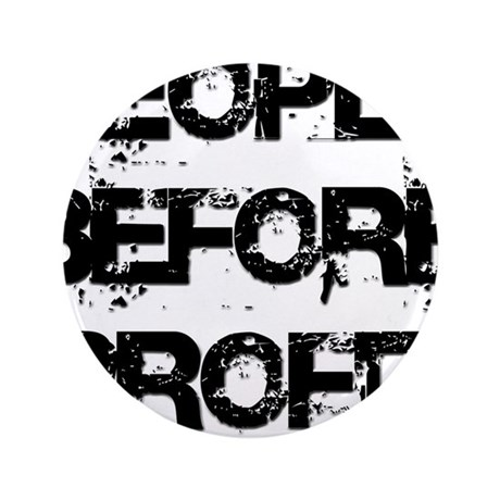 """People Before Profit 3.5"""" Button (100 pack)"""