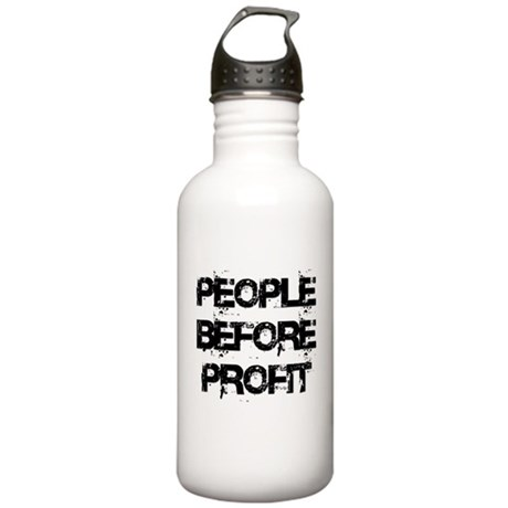 People Before Profit Stainless Water Bottle 1.0L