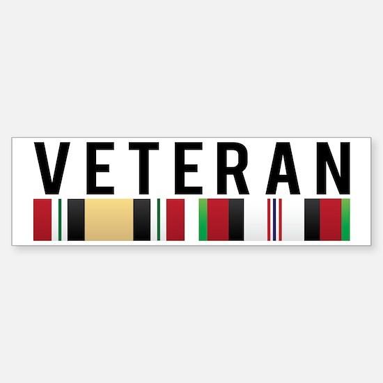 OIF/OEF Veteran Bumper Bumper Bumper Sticker