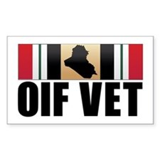 Operation Iraqi Freedom Veteran Decal
