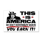 """""""This Is America!"""" Car Magnet 20 x 12"""