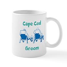 Cape Cod Groom Mugs
