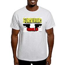 Survivor: Camden NJ Ash Grey T-Shirt