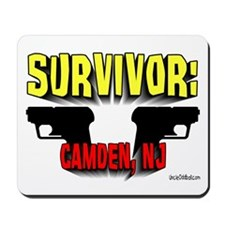 Survivor: Camden NJ Mousepad