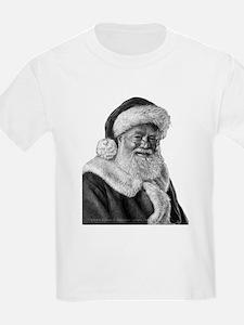 Engraved Santa T-Shirt