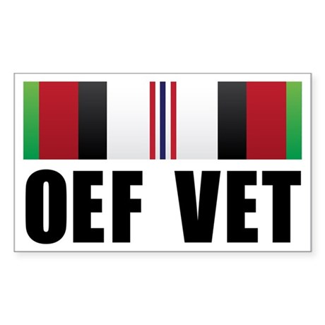 Operation Enduring Freedom (O Sticker (Rectangle)