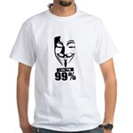 Fawkes 99% White T-Shirt