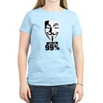 Fawkes 99% Women's Light T-Shirt