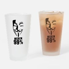 Fawkes 99% Drinking Glass
