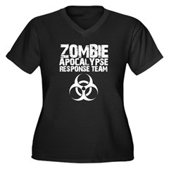 CDC Zombie Apocalypse Respons Women's Plus Size V-