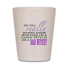 Do You Really Wanna Know? Shot Glass