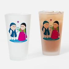 Seoul Mates Drinking Glass