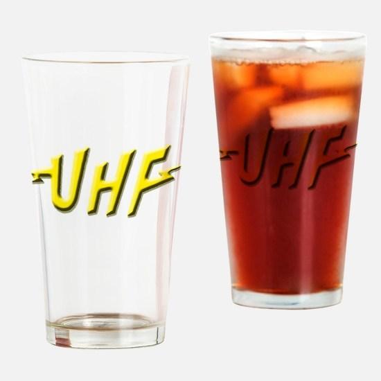 Cute Weird al Drinking Glass