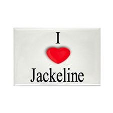 Jackeline Rectangle Magnet