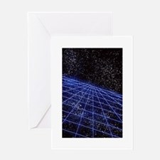 Space Time Greeting Card