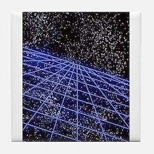 Space Time Tile Coaster