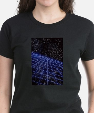 Space Time Women's Dark T-Shirt