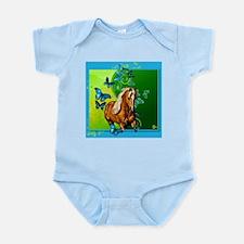 Palomino Butterflies Infant Bodysuit
