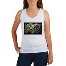 SteamPunk Gears Women's Tank Top