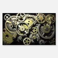 SteamPunk Gears Decal