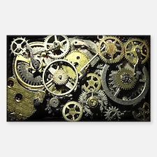 SteamPunk Gears Decal