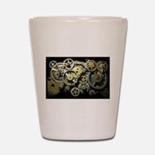 SteamPunk Gears Shot Glass
