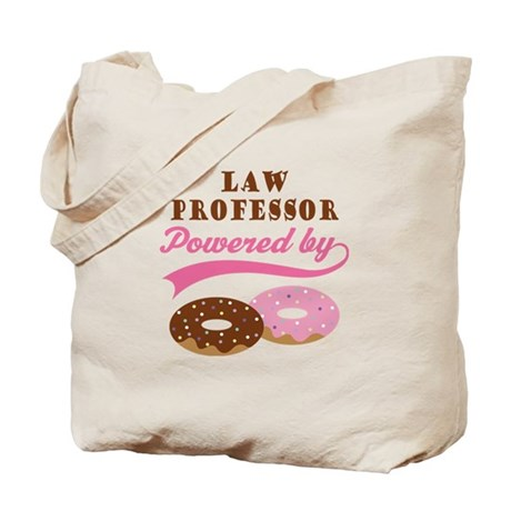 Law Professor Gift Donuts Tote Bag