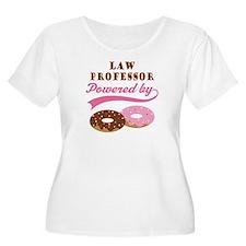 Law Professor Gift Donuts T-Shirt