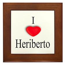 Heriberto Framed Tile