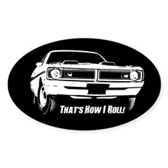 How I Roll - Dodge Demon Decal