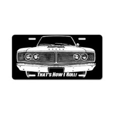 How I Roll - Dodge Coronet Aluminum License Plate