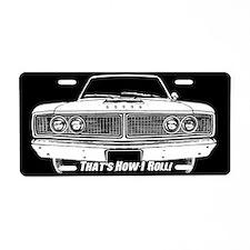How I Roll - Dodge Coronet Aluminum License Plate