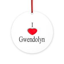 Gwendolyn Ornament (Round)
