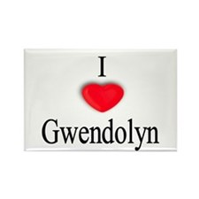Gwendolyn Rectangle Magnet