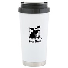 Personalized Drums Thermos Mug