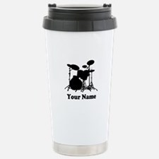 Personalized Drums Travel Mug