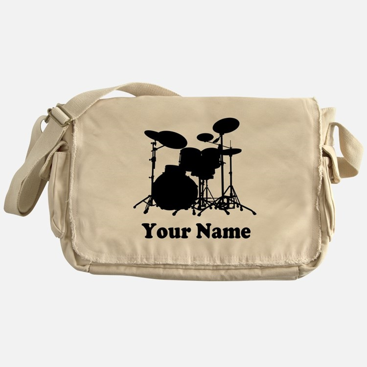 Personalized Drums Messenger Bag