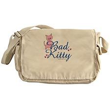 Bad Kitty Messenger Bag