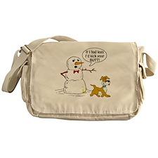 Snowman Joke Messenger Bag